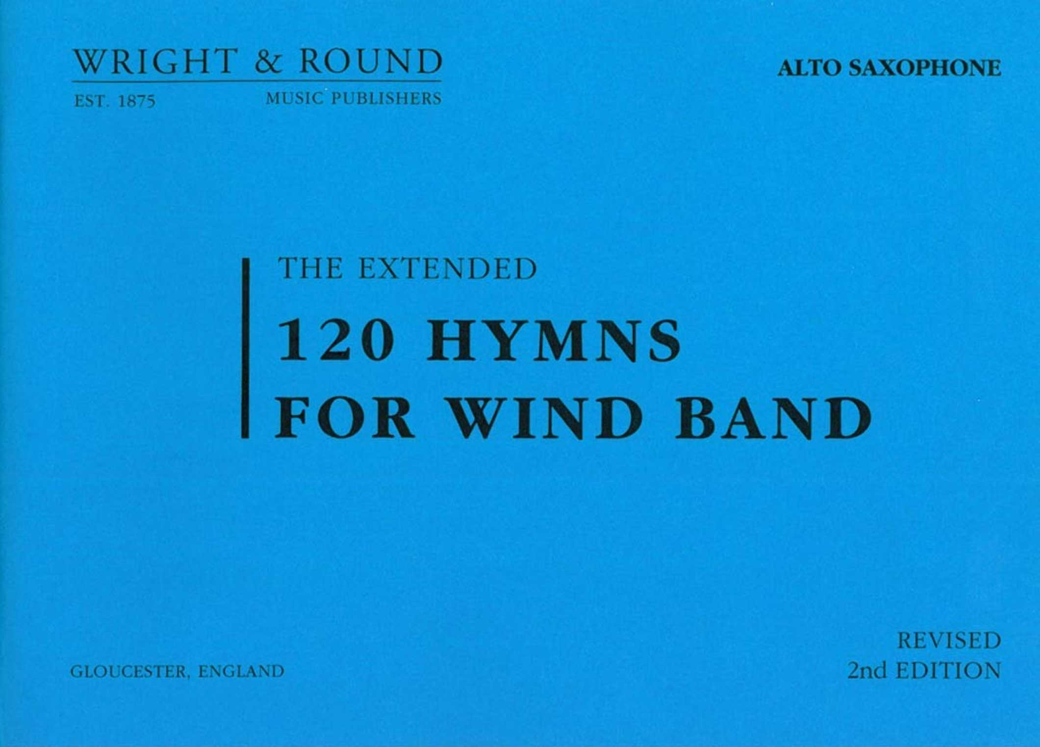 120 Hymns for Wind Band (1st Clarinet)