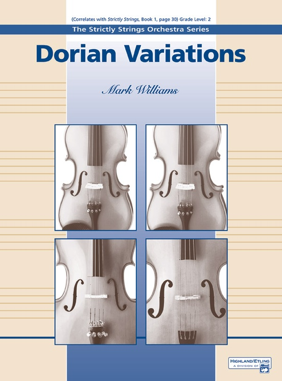 Dorian Variations (String Orchestra – Score and Parts)