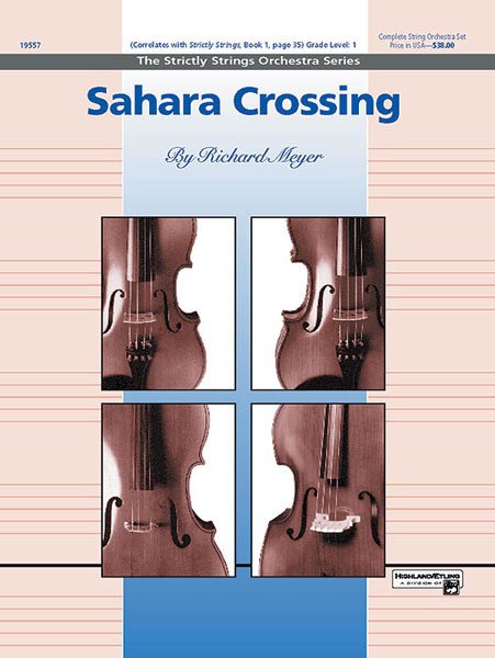 Sahara Crossing (String Orchestra - Score and Parts)