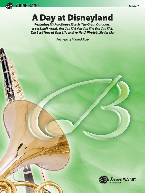 A Day at Disneyland (Concert Band - Score and Parts)