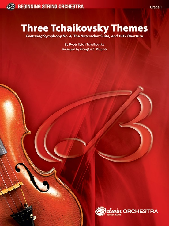 Three Tchaikovsky Themes (String Orchestra – Score and Parts)