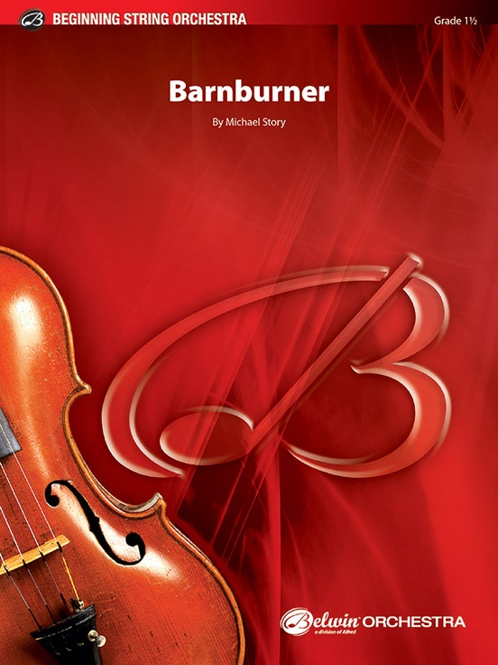 Barnburner (String Orchestra – Score and Parts)
