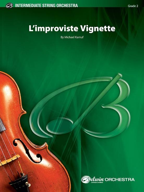 L'Improviste Vignette (String Orchestra – Score and Parts)