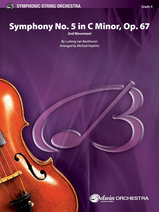 Symphony No.5 in C minor Op.67 (Movement II) (String Orchestra – Score and Parts)