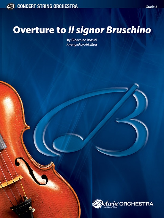 Il Signor Bruschino, Overture to (String Orchestra – Score and Parts)