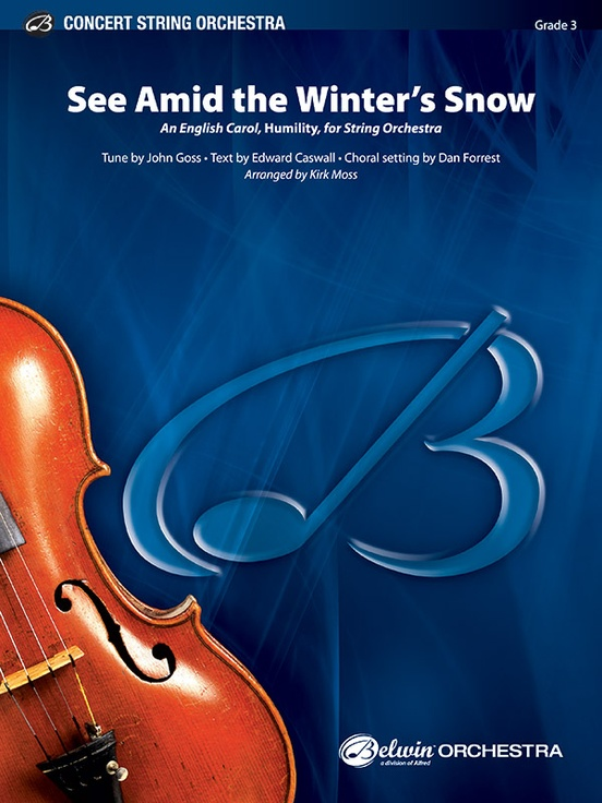 See Amid the Winter's Snow (String Orchestra – Score and Parts)