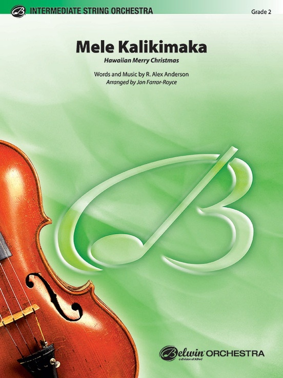 Mele Kalikimaka (String Orchestra – Score and Parts)