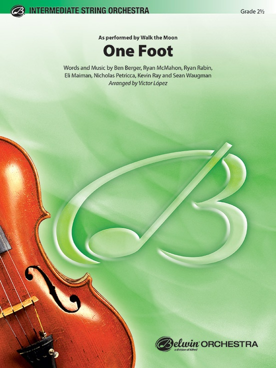 One Foot (String Orchestra – Score and Parts)