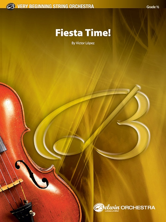 Fiesta Time (String Orchestra – Score and Parts)