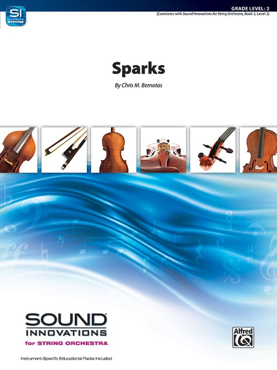 Sparks (String Orchestra – Score and Parts)