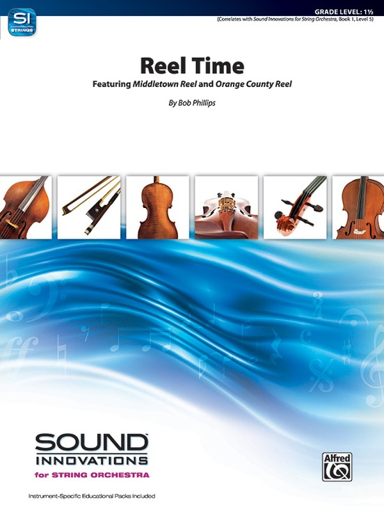 Reel Time (String Orchestra – Score and Parts)