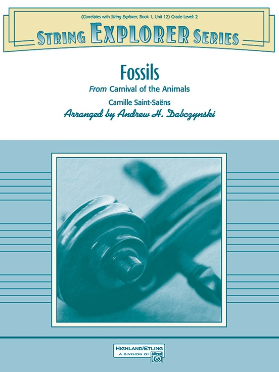 Fossils (String Orchestra – Score and Parts)