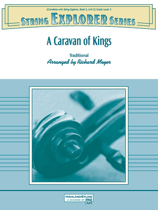 A Caravan of Kings (String Orchestra – Score and Parts)