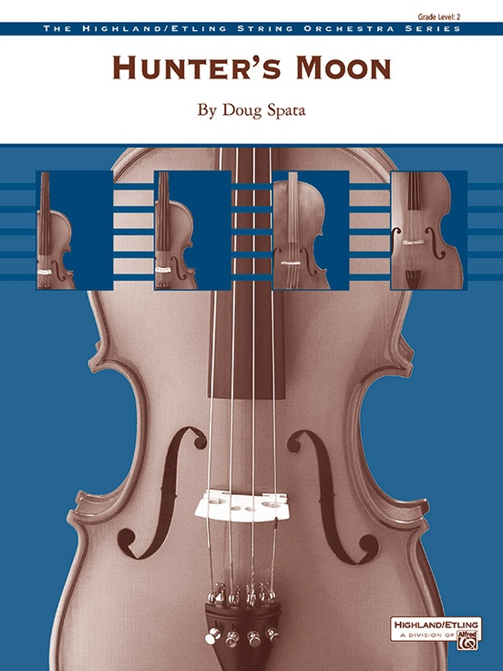 Hunter's Moon (String Orchestra – Score and Parts)