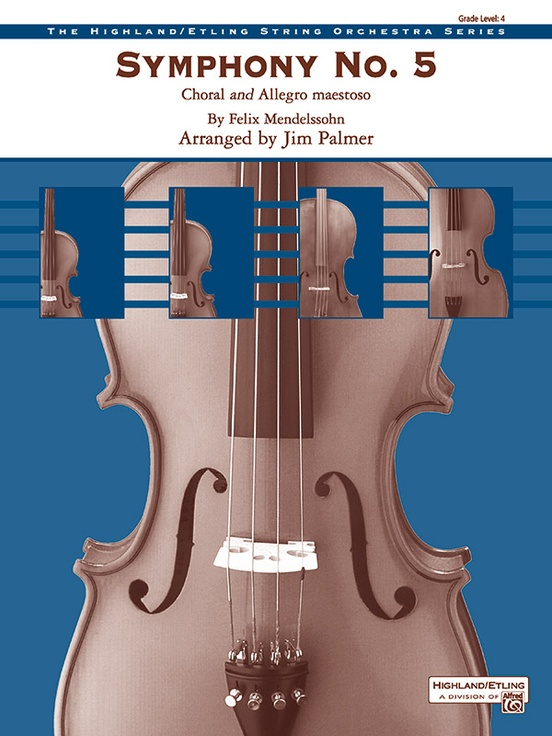 Symphony No.5 (Choral and Allegro Maestoso) (String Orchestra – Score and Parts)