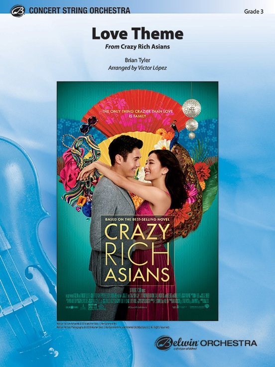 Love Theme (from Crazy Rich Asians) (String Orchestra - Score and Parts)