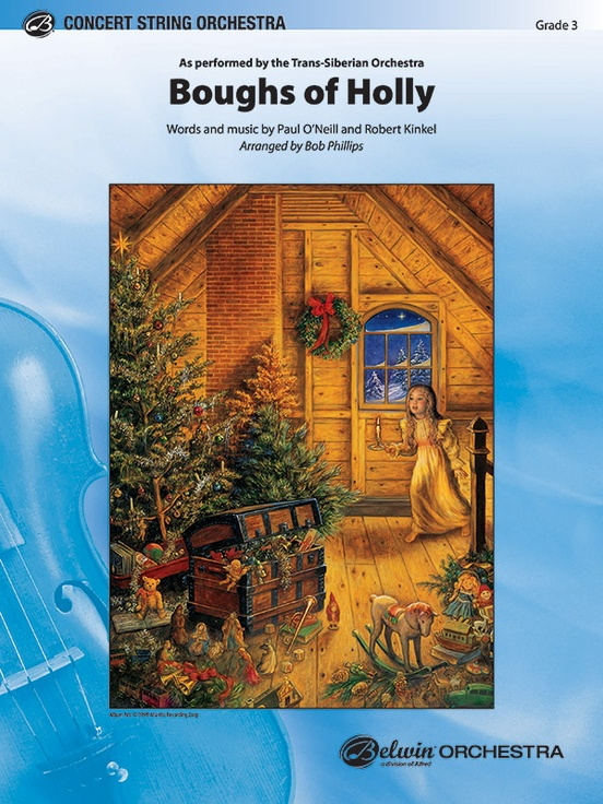 Boughs of Holly (String Orchestra - Score and Parts)