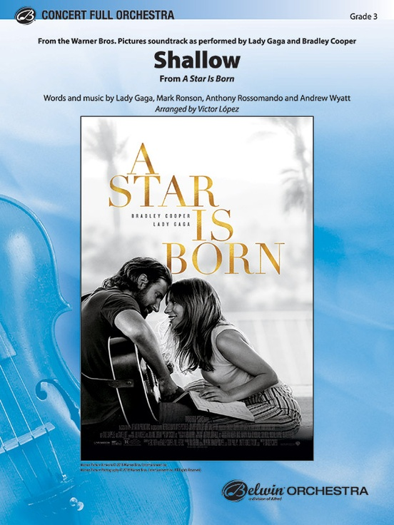 Shallow (from A Star is Born) (Full or String Orchestra - Score and Parts)