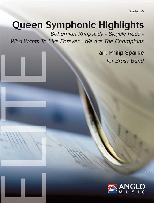 Queen Symphonic Highlights (Brass Band - Score and Parts)