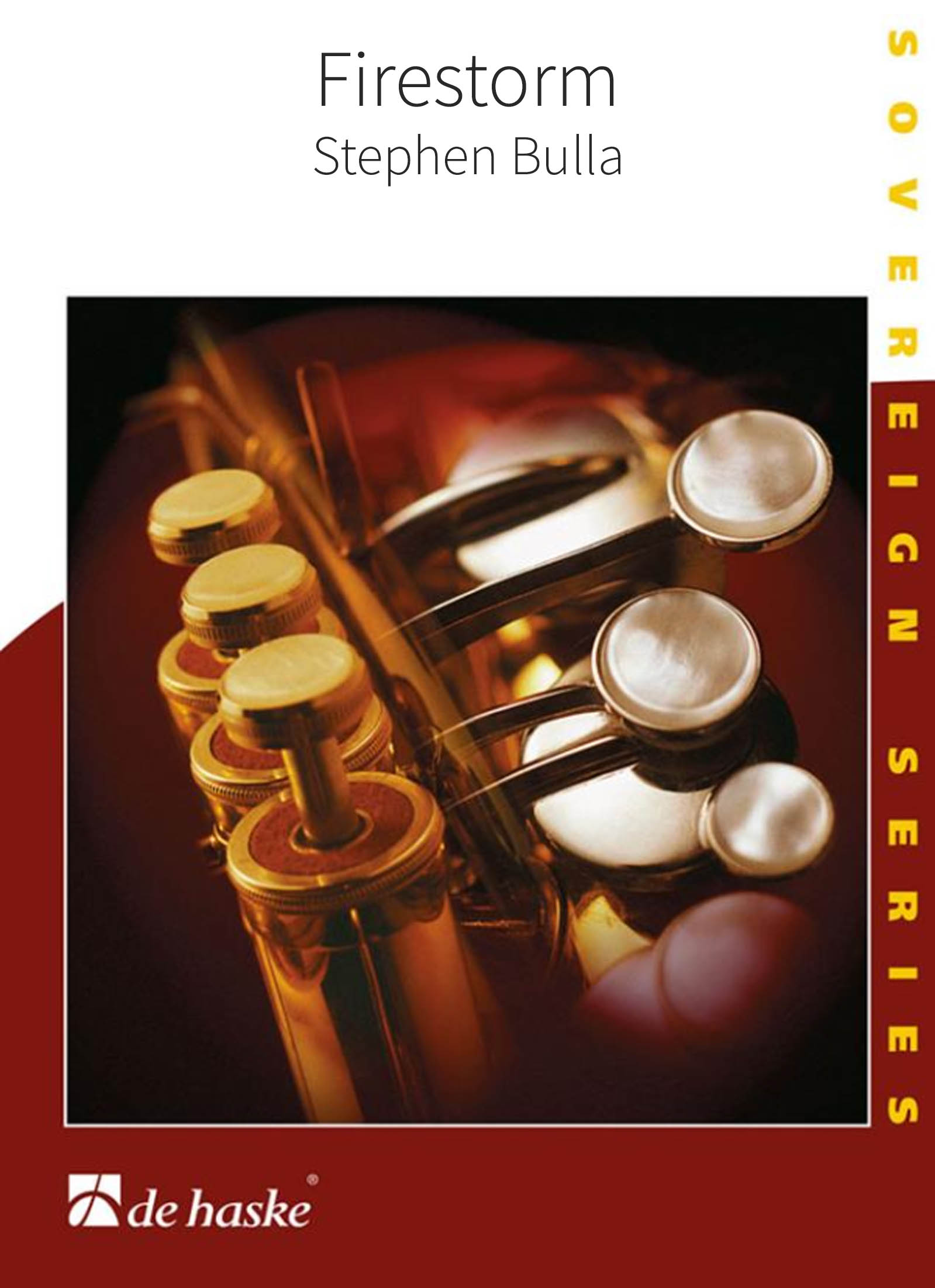 Firestorm (Brass Band - Score and Parts)