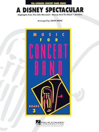 A Disney Spectacular (Concert Band - Score and Parts)
