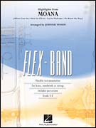 Moana, Highlights from (Flex Band - Score and Parts)