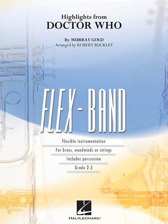 Doctor Who, Highlights from (Flex Band - Score and Parts)