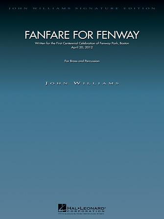 Fanfare for Fenway (Brass Ensemble - Score and Parts)