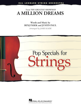A Million Dreams from The Greatest Showman (String Orchestra - Score and Parts)
