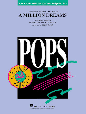 A Million Dreams from The Greatest Showman (String Quartet - Score and Parts)