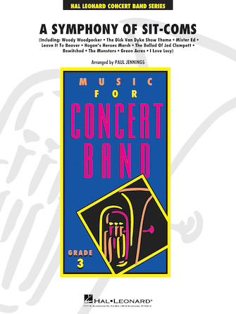 A Symphony of Sit-Coms (Concert Band - Score and Parts)