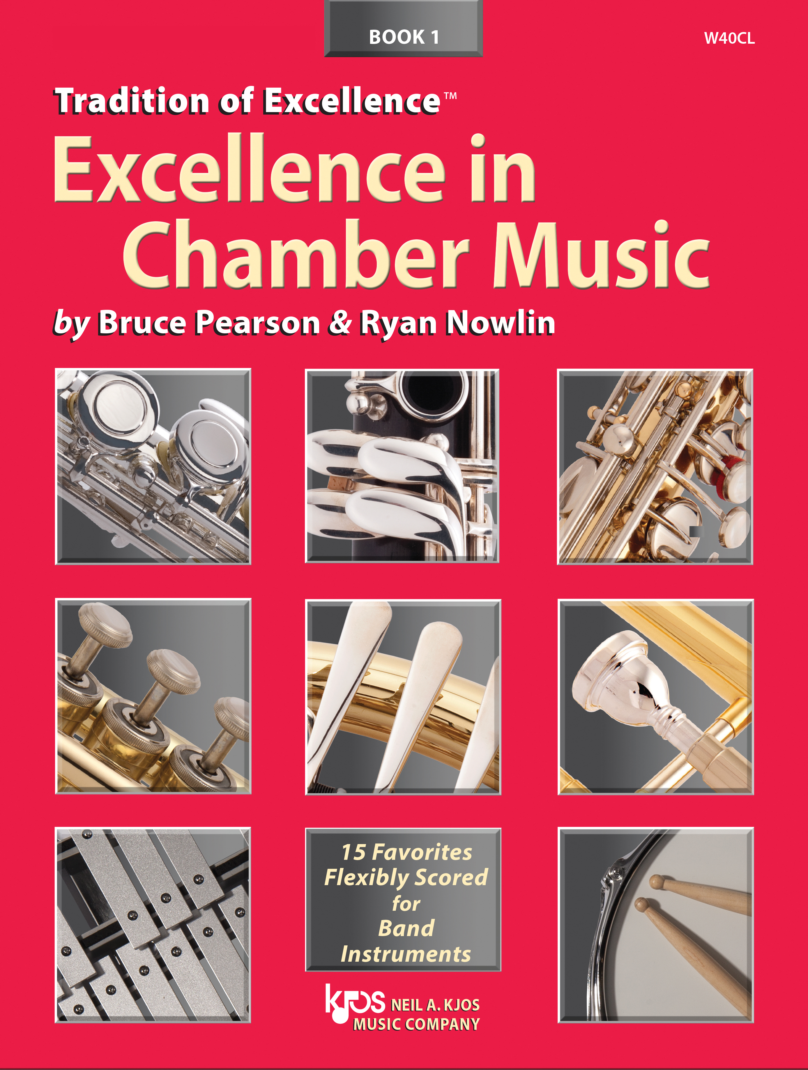 Excellence in Chamber Music Book 1 (Bassoon/Trombone/Baritone BC)
