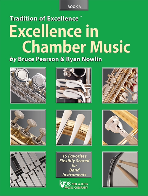 Excellence in Chamber Music Book 3 (Bassoon/Trombone/Baritone BC)