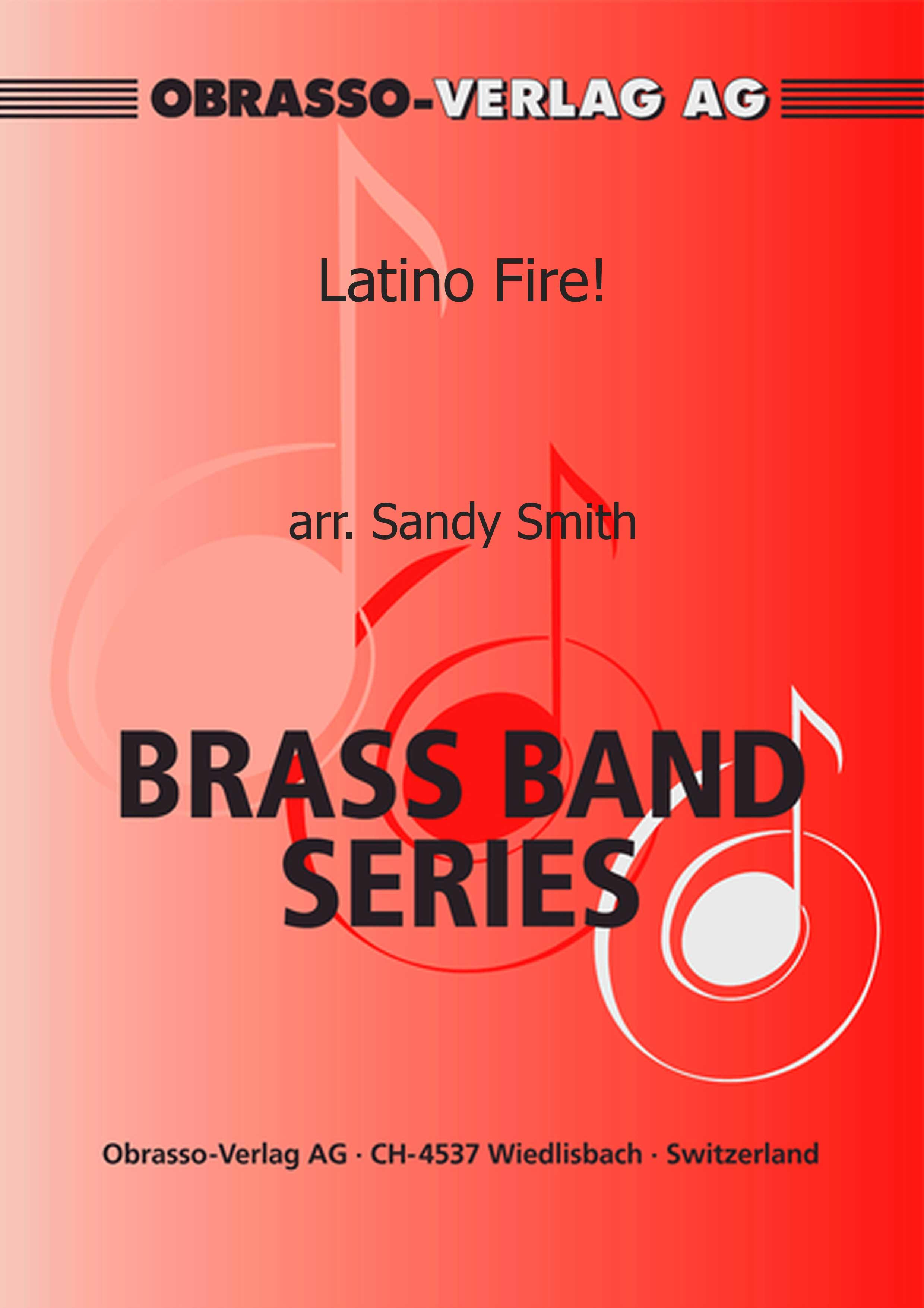 Latino Fire! (Brass Band - Score and Parts)