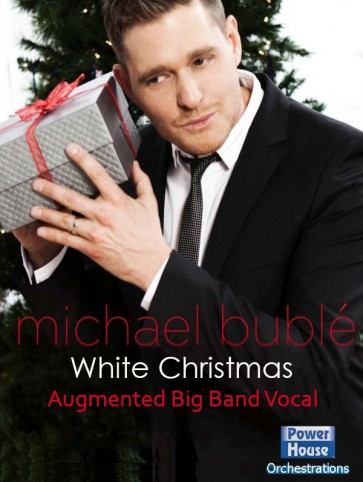 Michael Buble White Christmas.White Christmas Vocal Solo With Augmented Big Band Score And Parts