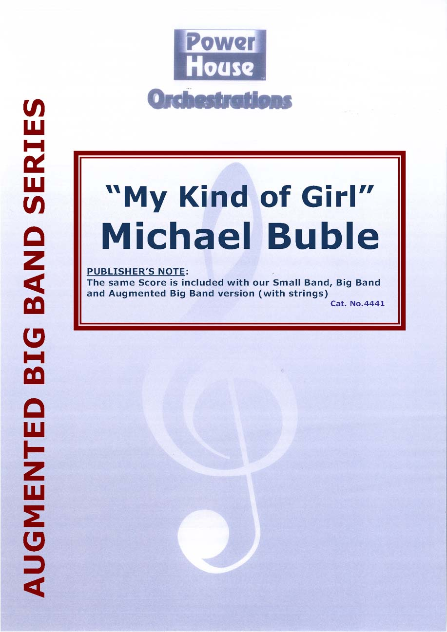 My Kind of Girl (Vocal Solo with Augmented Big Band - Score and Parts)