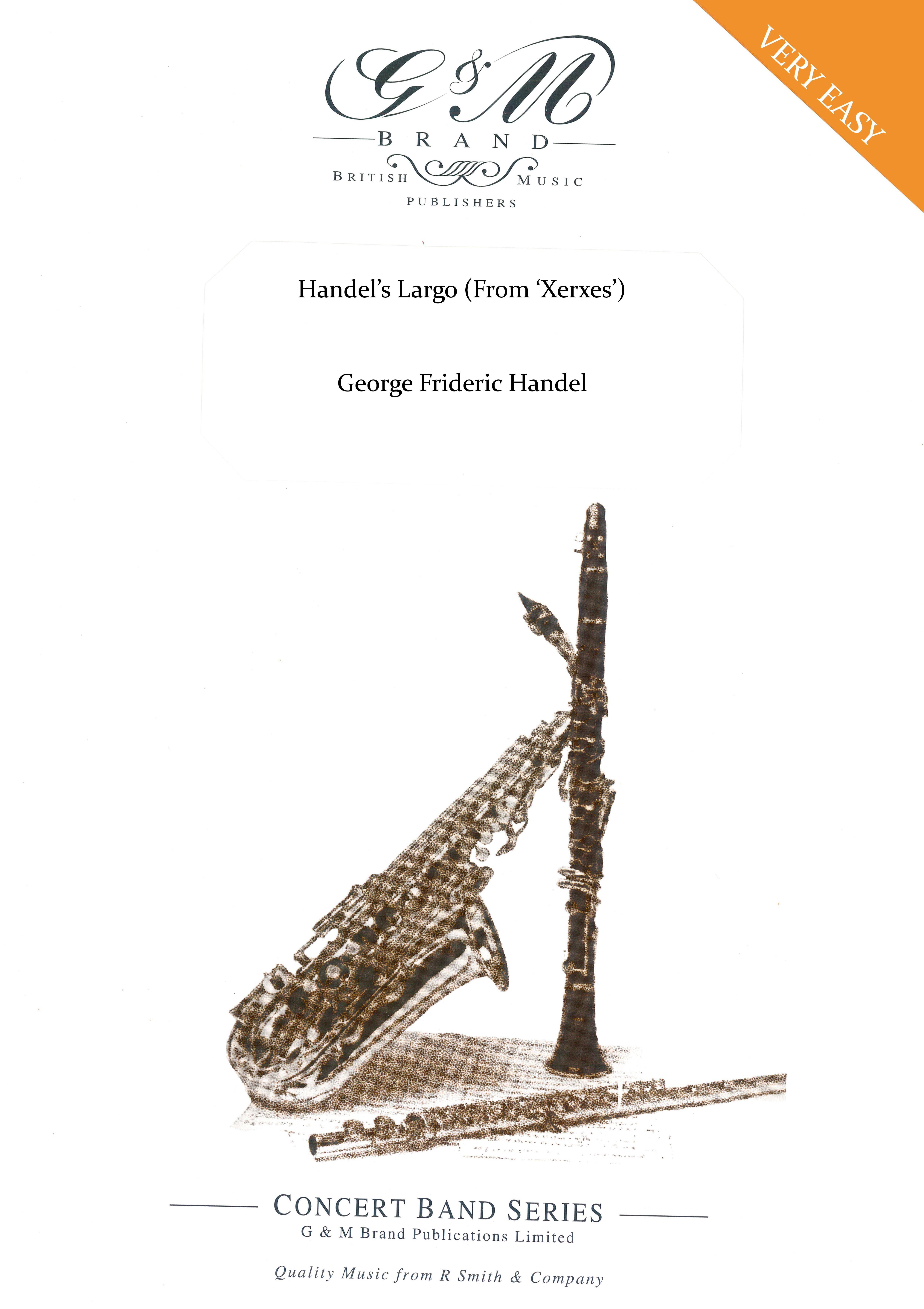Handel's Largo (From Xerxes) (Flexible Ensemble - Score and Parts)
