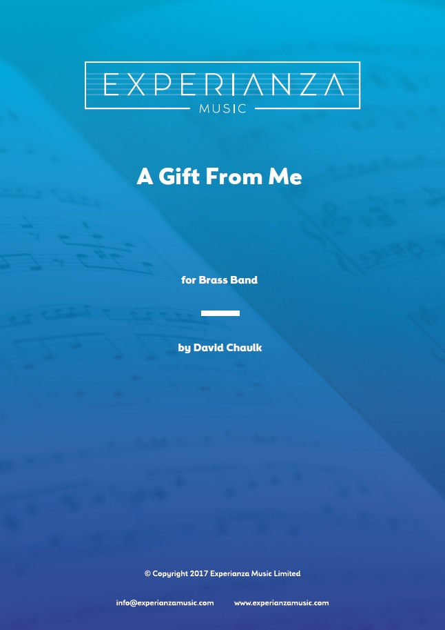 A Gift from Me (Brass Band - Score and Parts)