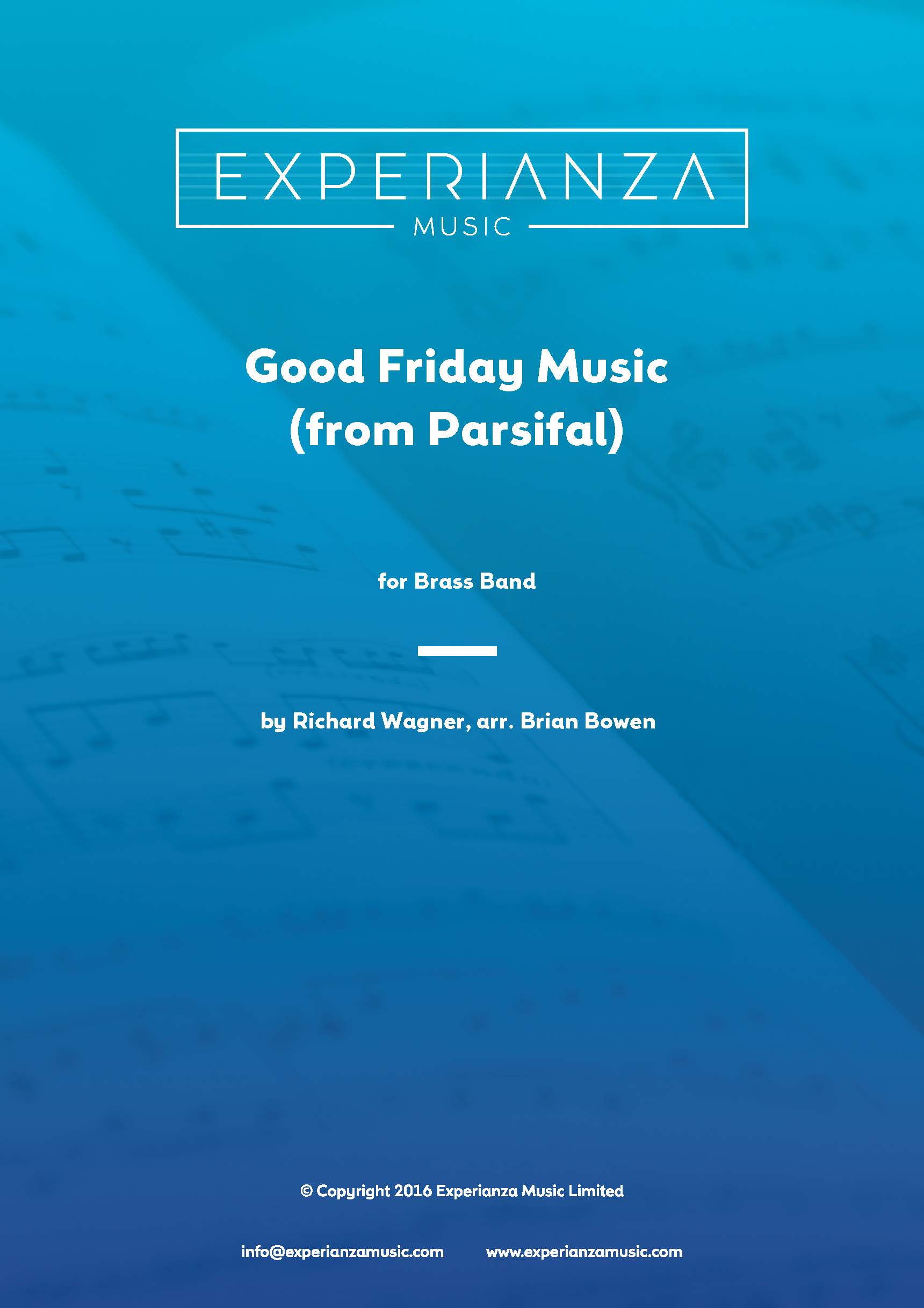 Good Friday Music (Brass Band - Score and Parts)