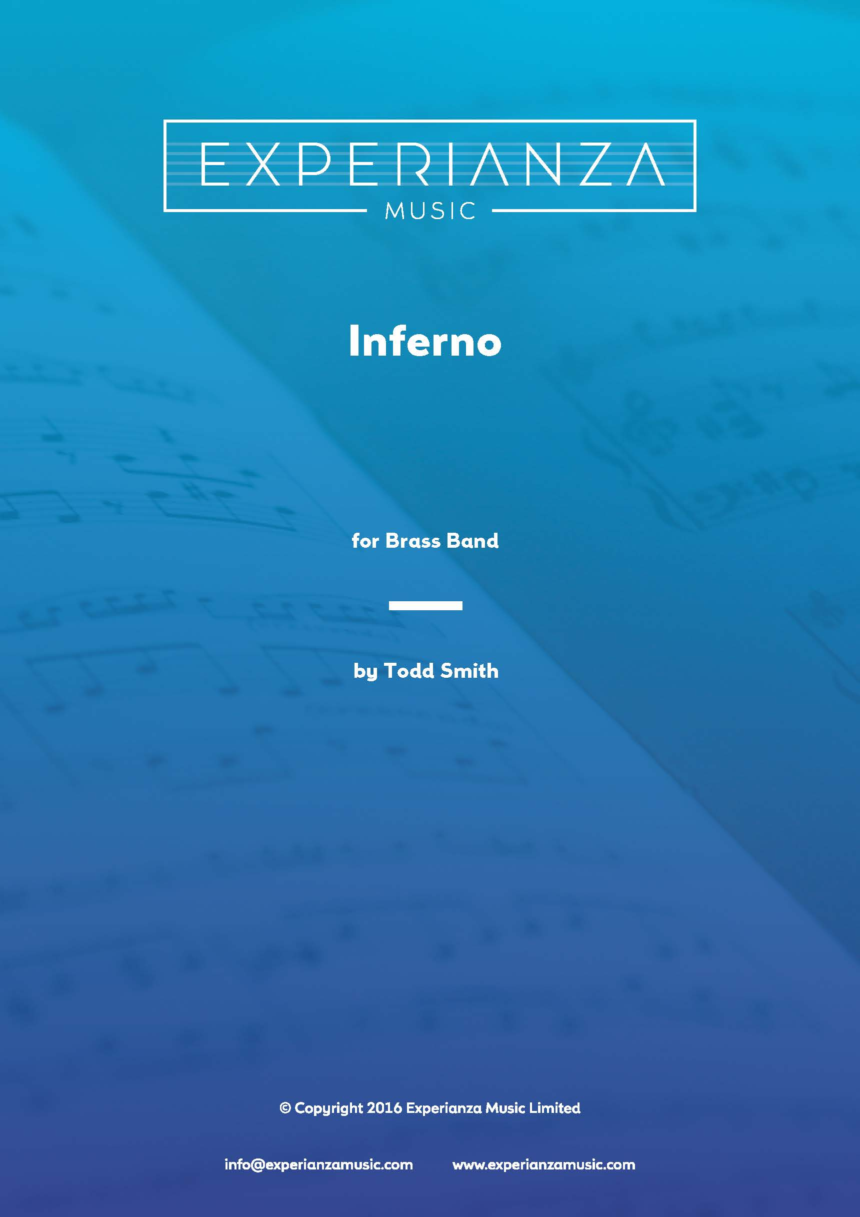 Inferno (Brass Band - Score and Parts)