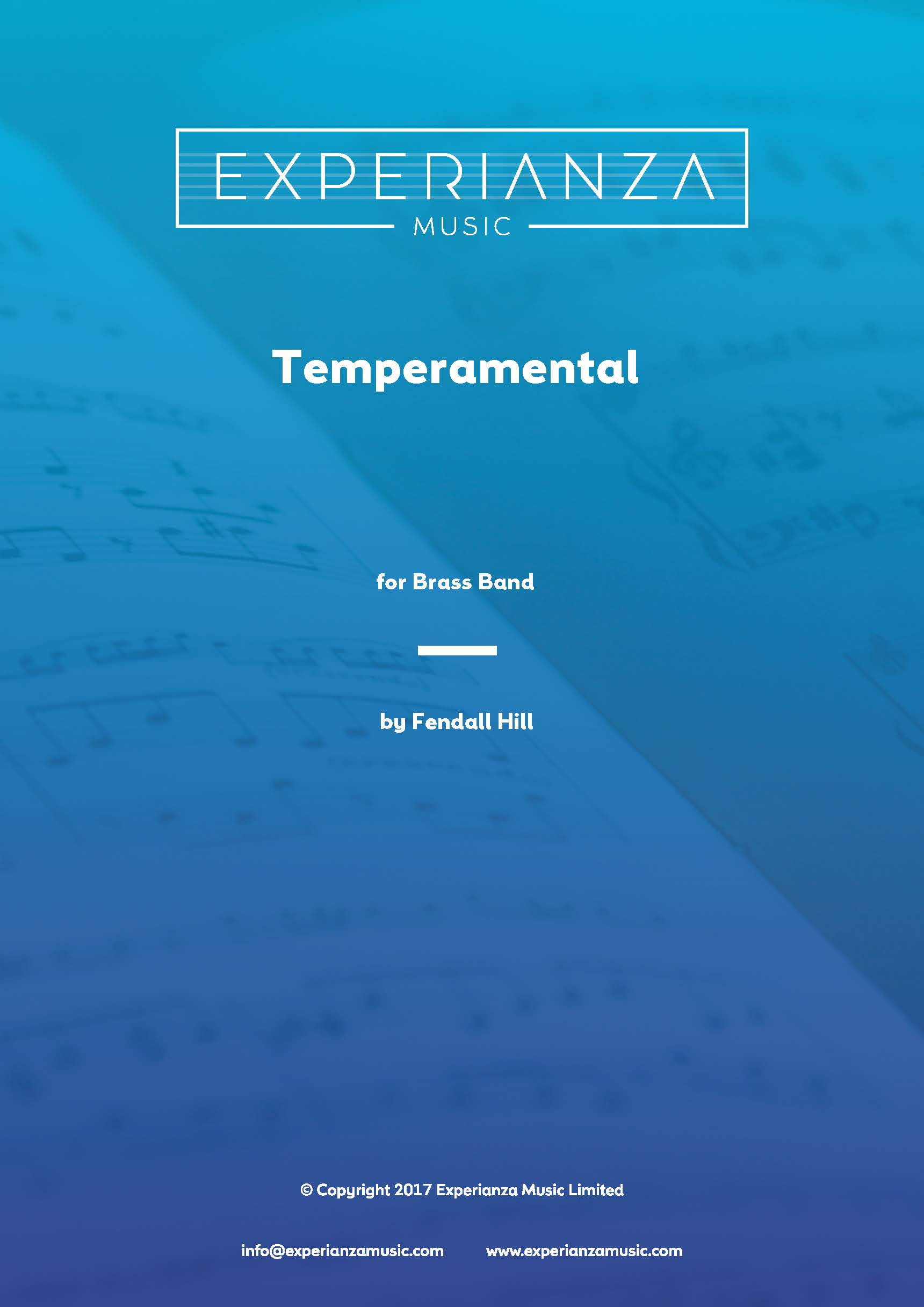 Temperamental (Brass Band - Score and Parts)