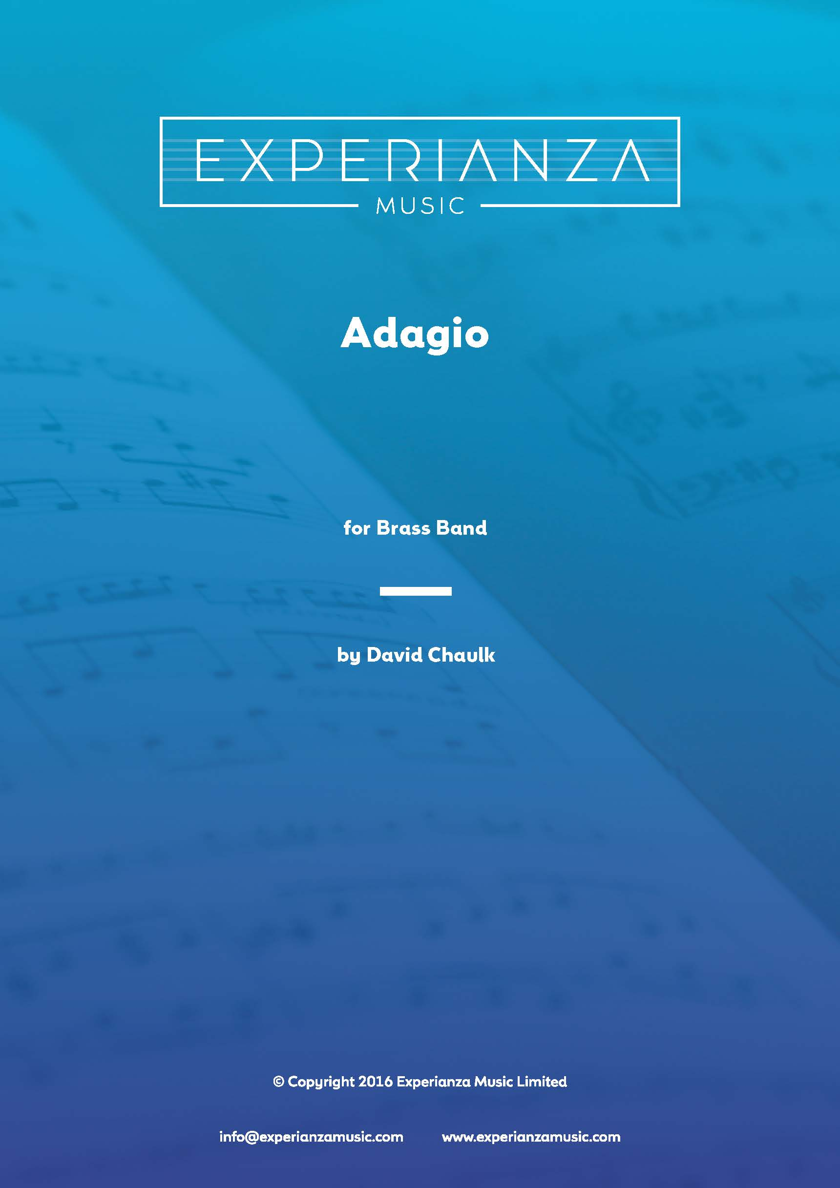 Adagio (Brass Band - Score and Parts)