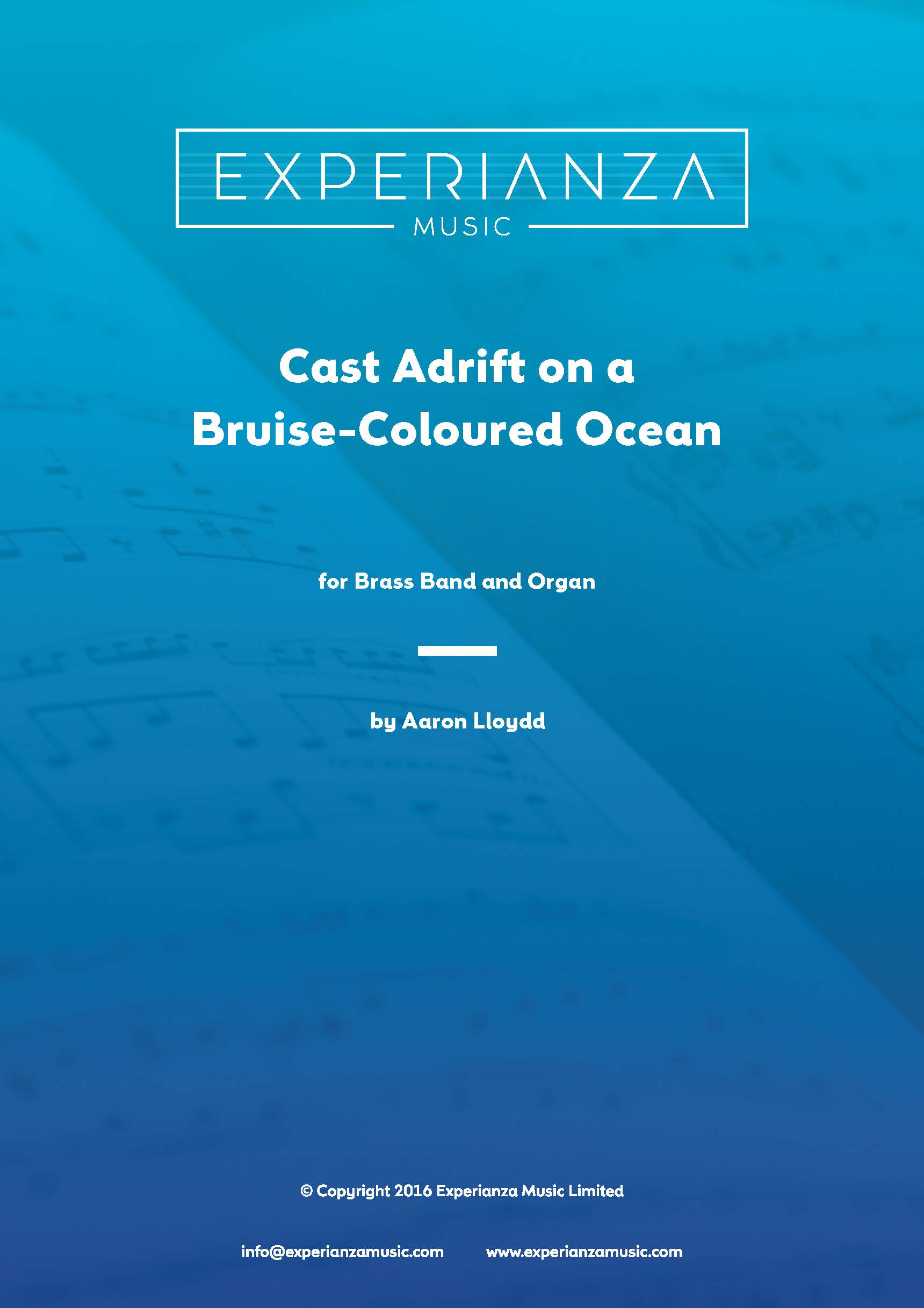 Cast Adrift on a Bruise-Coloured Ocean (Brass Band - Score and Parts)
