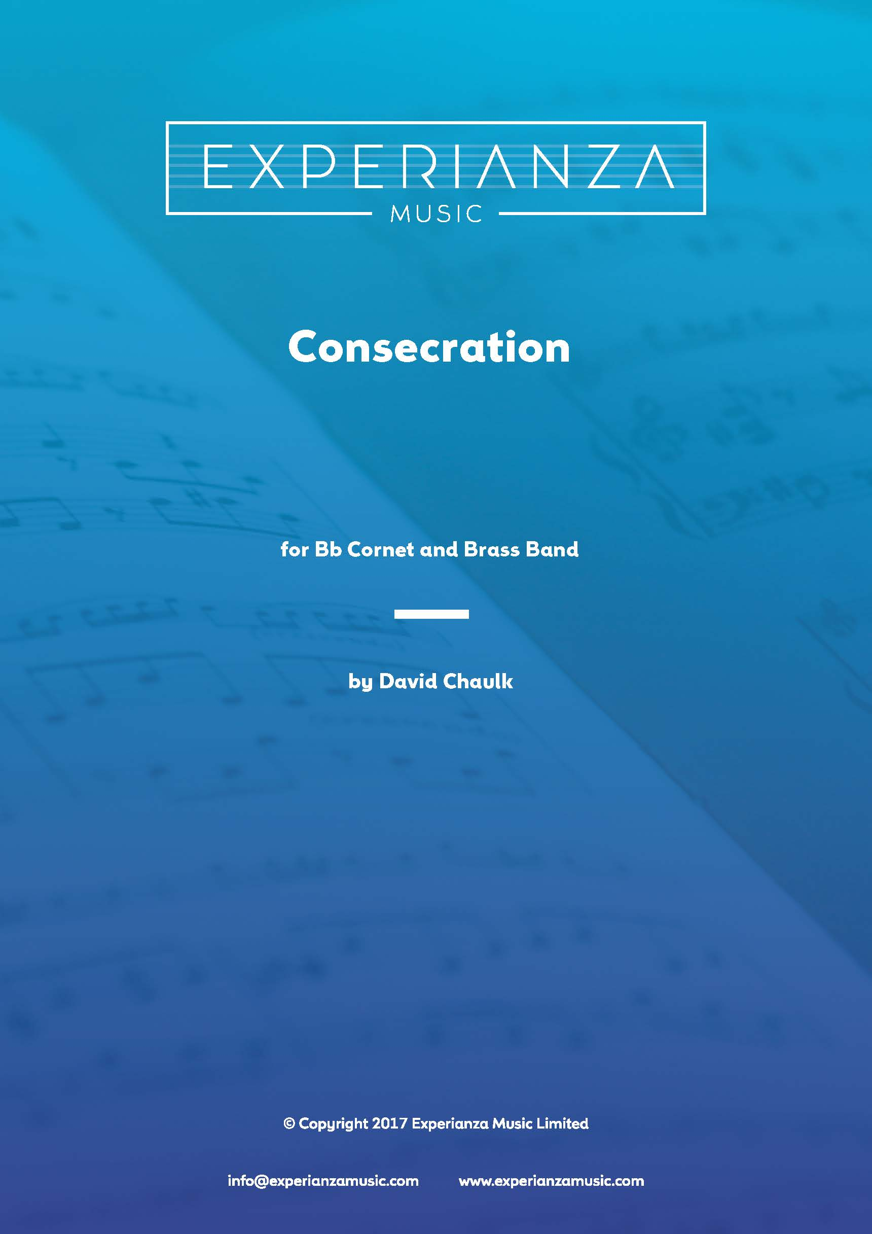 Consecration (Brass Band - Score and Parts)