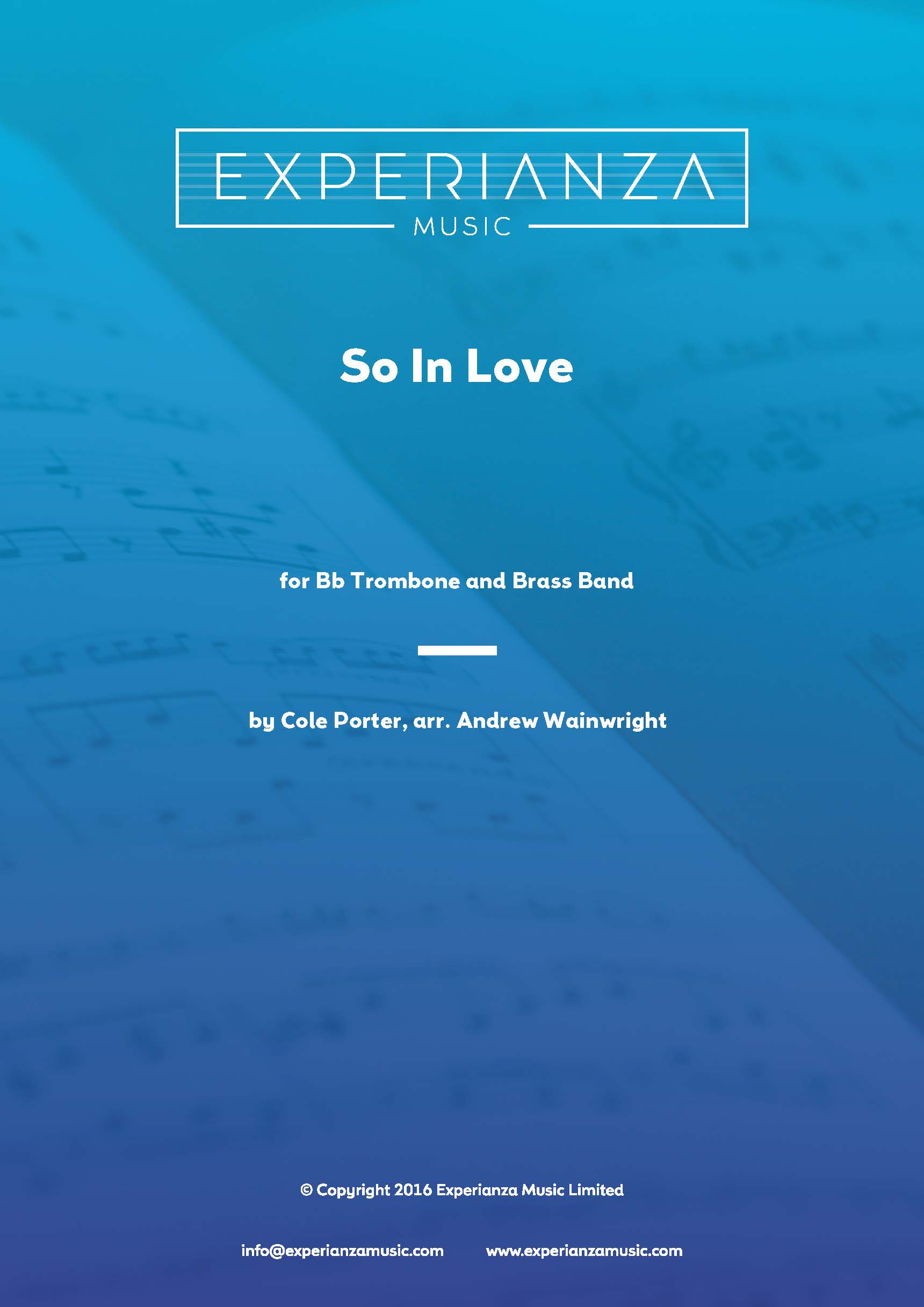 So in Love (Brass Band - Score and Parts)