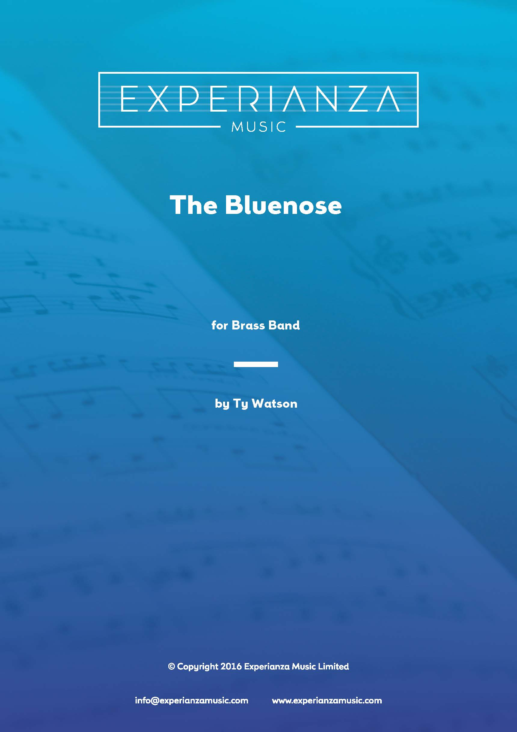 The Bluenose (Brass Band - Score and Parts)