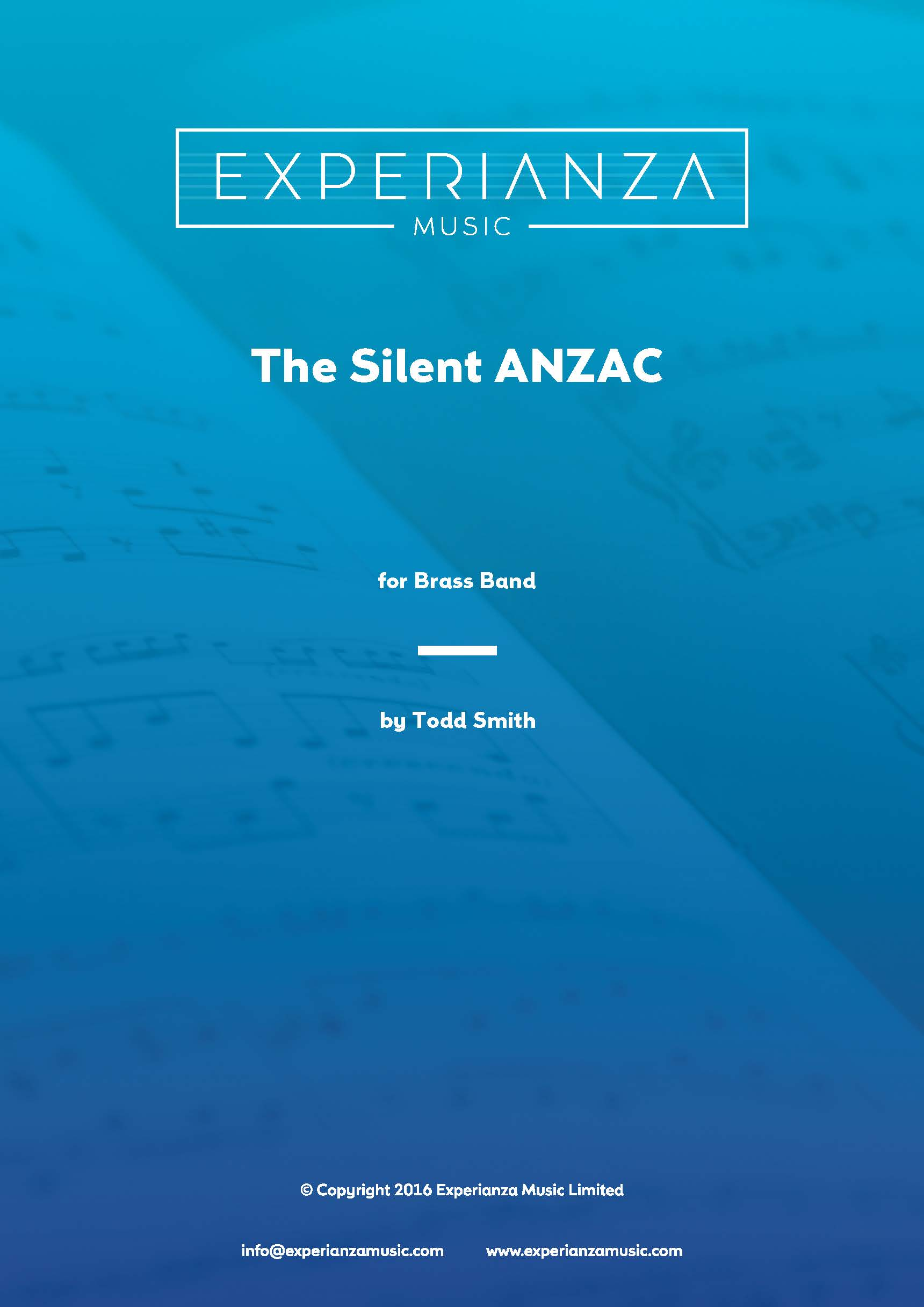 The Silent ANZAC (Brass Band - Score and Parts)