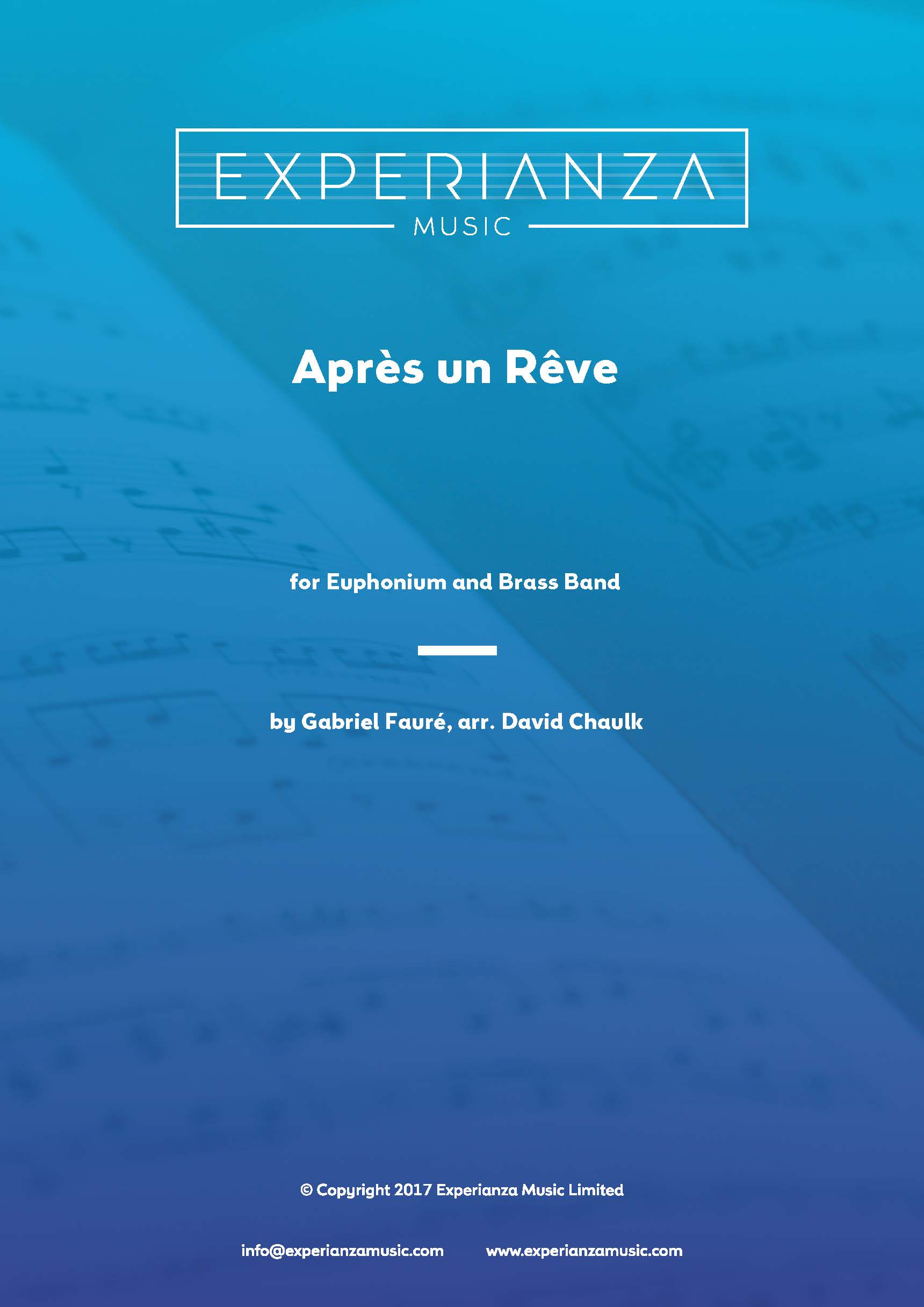 Apres un Reve (Brass Band - Score and Parts)