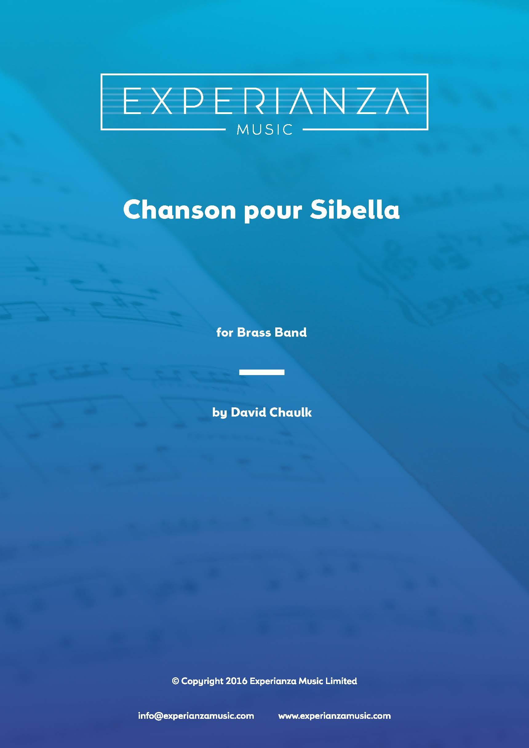 Chanson pour Sibella (Brass Band - Score and Parts)
