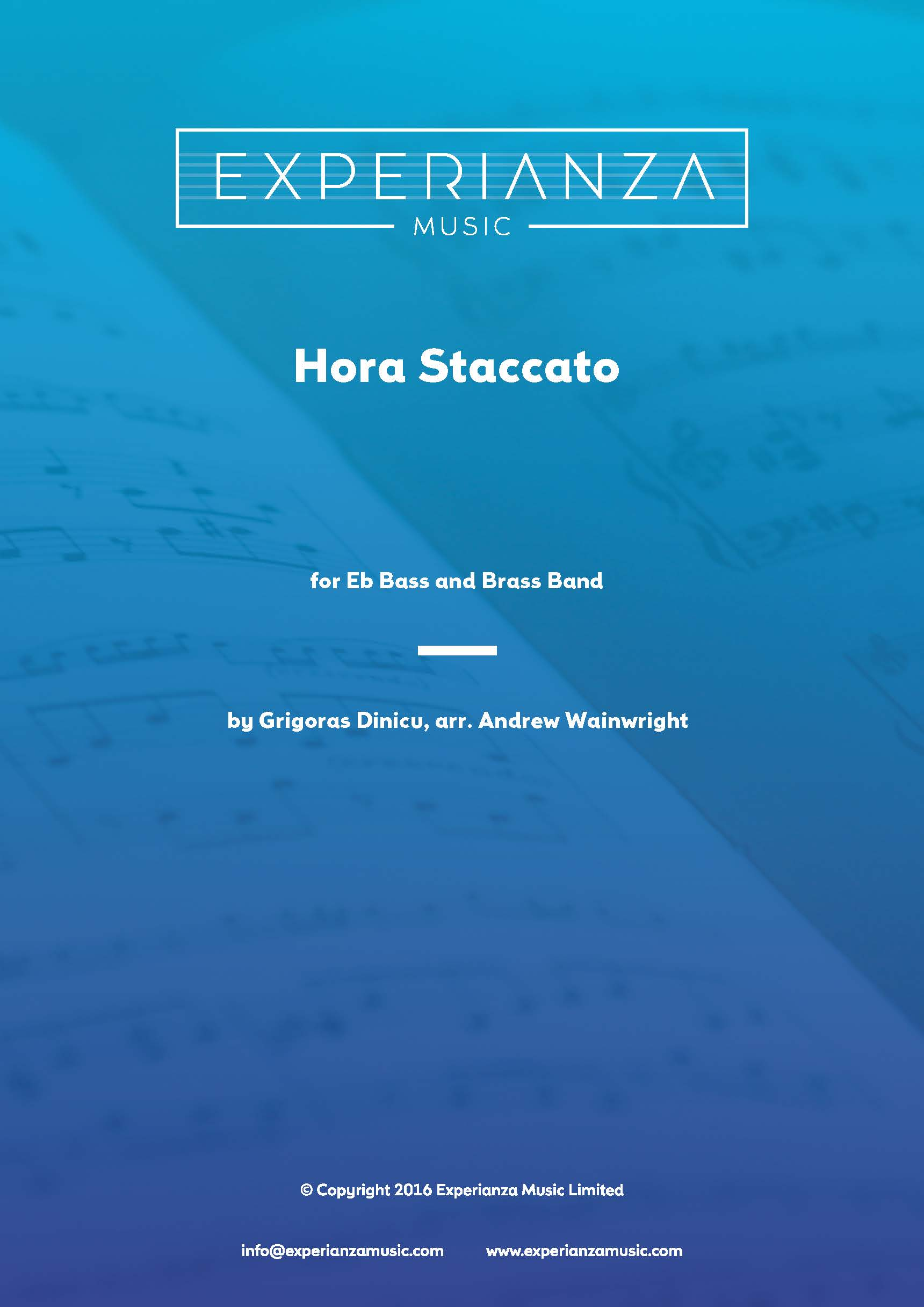 Hora Staccato (Brass Band - Score and Parts)